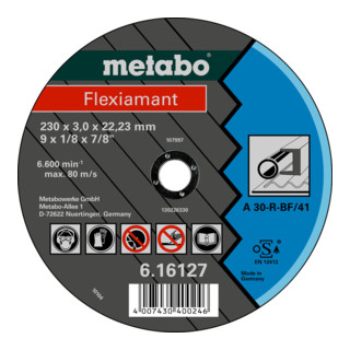 "Metabo Trennscheibe A 30-R ""Flexiamant"" Stahl"
