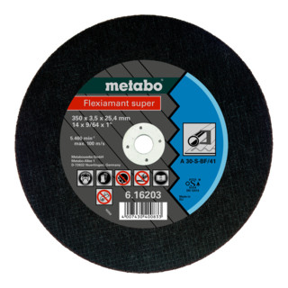 "Metabo Trennscheibe A 30-S ""Flexiamant Super"" Stahl"
