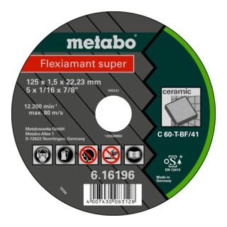 Metabo Trennscheibe Flexiamant super Keramik