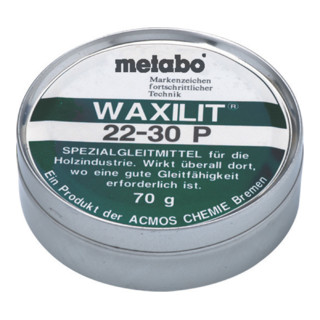 Metabo Waxilit - Gleitmittel 70 g Dose