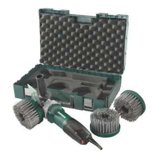 Metabo Winkelpolierer PE 12-175 Set Renovierungs-Set + Kunststoffkoffer