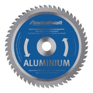 Metallkreissägeblatt HM Aluminium 355x2,4x25,4mm Z80