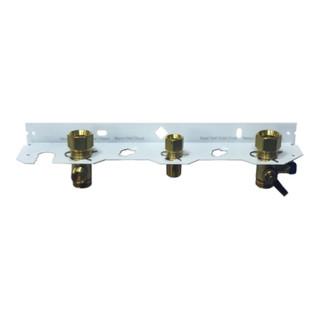 MHG Anschlussschiene ecoGAS für ecoGas 11,18,24,30, mit Gasfitting DN 15