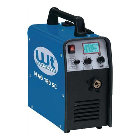 MIG/MAG Schweißa. WT-MAG 180 SC Kompakt 25-180 A gasg. m.Zub. 230/50/60 V/Hz WT
