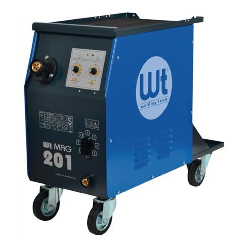MIG/MAG Schweißanlage WT-MAG 201 400V Strombereich 25-200A