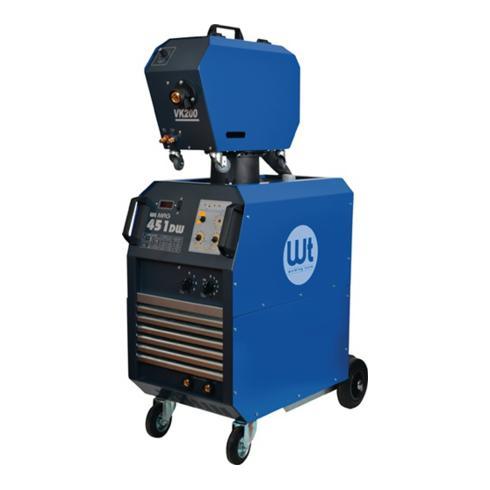 MIG/MAG Schweißanlage WT MAG 451 DW 400V Strombereich 40-450A