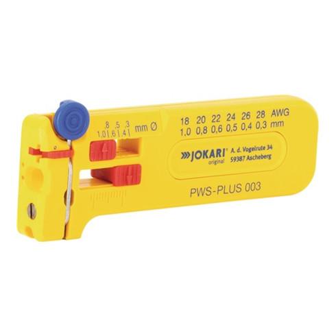Mikro-Präzisions-Abisolierer PWS-PLUS 003 Gesamt-L.102mm AWG 28-18 JOKARI