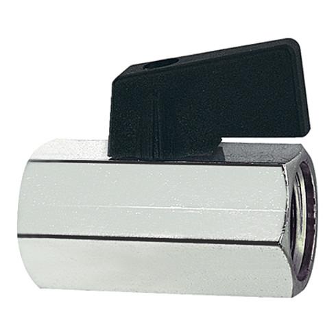 Mini robinet à boisseau 20,95 mm filetage int./int. RIEGLER