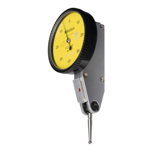 Mitutoyo Fühlhebelmessgerät Tastarmlänge 17,4 mm, Messbereich je Richtung / Gehäuse-Durchmesser: 0,4/40 mm
