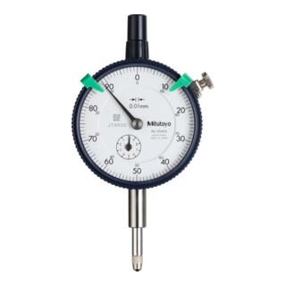 Mitutoyo Messuhr, Messbereich / Gehäuse-Durchmesser: 10/58 mm