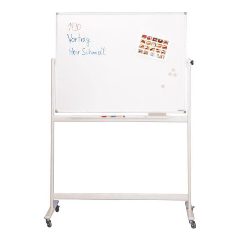 Mobiles Whiteboard CC 2200x1200 mm silber