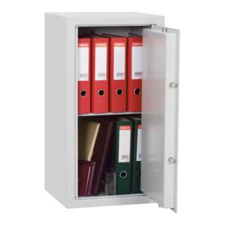 EIBI Möbeltresor, Sicherheitsstufe B + S2, BxTxH 425x380x705 mm, Volumen 63 l, 2 Böden, Gewicht 60 kg, RAL 7035 lichtgrau