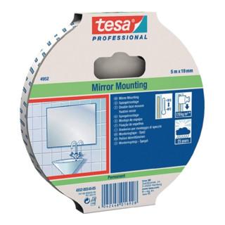 Montageband tesafix 4952 weiß PE-Schaumstoff Rolle 50mx19mm