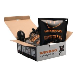 Montagekissen Winbag Trgf.135kg Ku.schwarz 4 St.im Krt.