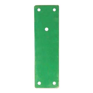 Montageplatte 901 670 Mont.an Brandschutztüren grün lack.L.175mm B.52mm