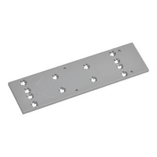 Montageplatte zu TS 73V silber universelle Lochgruppe