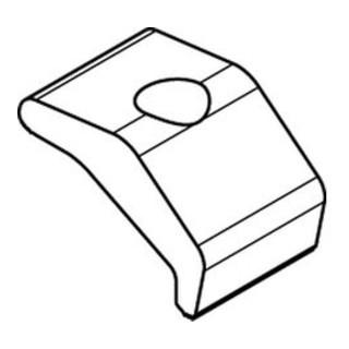 MTH ART 82400 Klemmplatte Nova Grip galvanisch verzinkt gal ZnS