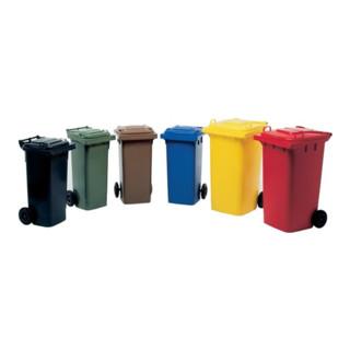 Müllgroßbehälter 80l HDPE grün fahrbar,n.EN 840 SULO