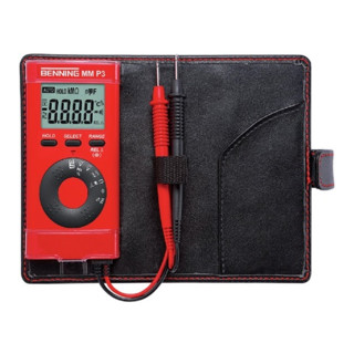 Multimeter 0,1 mV-600 V DC 0,1mV-600 V AC m.Batterien/Messleitungen/Etui MM P3