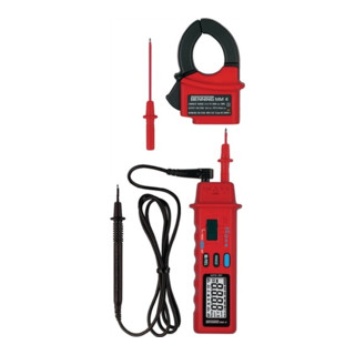 Multimeter 0,1 mV-600 V DC 1 mV-600 V AC m.Batterien/Messleitungen/Tasche MM 4
