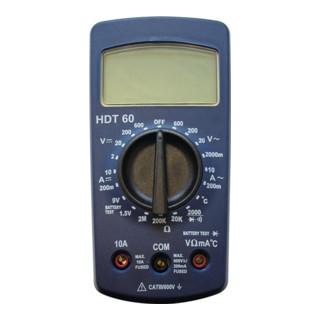 Multimeter Digitalanzeige 2-600 V AC/DC 200 mA - 10 A AC/DC