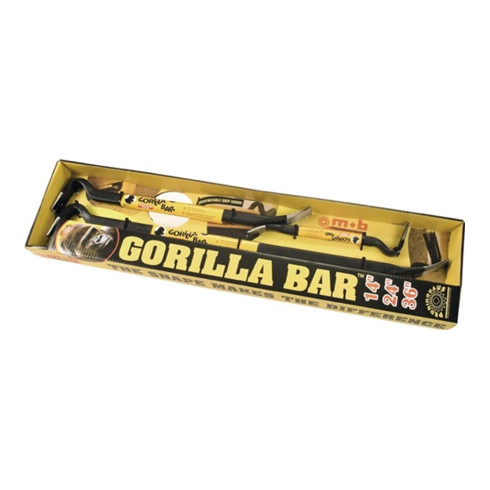 Nageleisenset Gorilla Bar Gesamt-L.350/600/900mm Inh.3tlg.PEDDINGHAUS