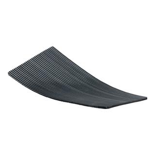 Fine cannelée Caoutchouc nattes x 1 m large 3 mm épais Anti Dérapant Imperméable Drap
