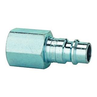 Nippel NW 7,2 - NW 7,8G 1/8 innen Stahl gehärtet u. verzinkt