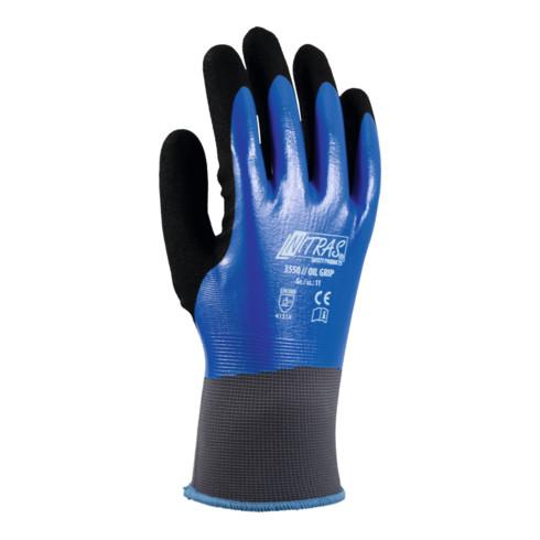 Nitras Handschuh-Paar 3550, OIL GRIP, Handschuhgröße: 9