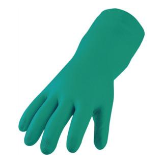 Asatex Nitril-Schutzhandschuh, EN388/374 Kat. III, grün, lebensmittelgeeignet