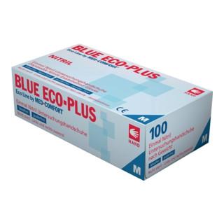 Nordwest Nitrileinweghandschuhe Blue Eco Plus puderfrei 100 Stk. Box blau