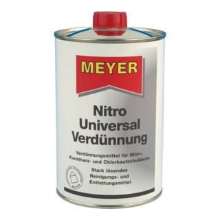 Nitroverdünner 1l Flasche o.Methanol