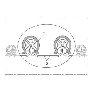 Norres Absaug- & Gebläseschlauch CP PTFE GLASS-INOX 471