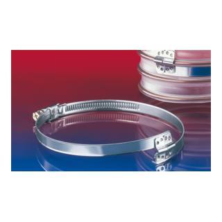 Norres CLAMP 212 Spiralschelle zur Befestigung von außen gewellten Spiralschläuchen