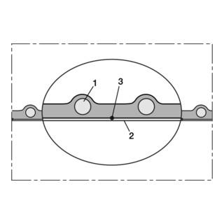 Norres Kunststoffschlauch antist., schwer Ø 50mm L: 20m NORPLAST® PUR-C 386 AS