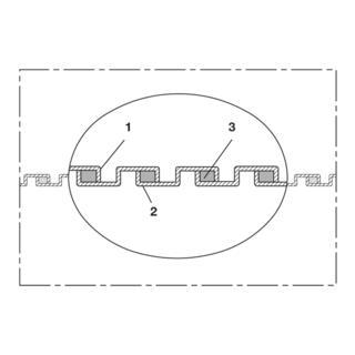 Norres Metallschlauch + Saugschlauch bis 120°C Ø 150mm L: 5m METAL HOSE 375