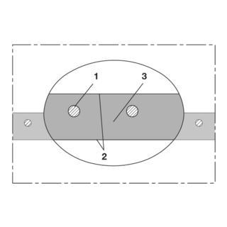 Norres PVC Lebensmittelschlauch vakuumfest Ø 30mm L: 60m BARDUC® PVC 381 FOOD