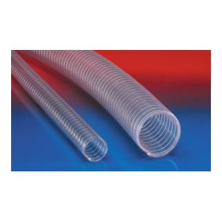 Norres PVC Lebensmittelschlauch vakuumfest Ø 80mm L: 20m BARDUC® PVC 381 FOOD
