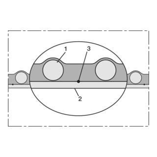 Norres Saugschlauch antist. superschwer Ø 76mm L: 13,5m NORPLAST® PUR-C 387 AS
