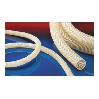 Norres Saugschlauch antistatisch + schwer Ø 90mm L: 30m NORPLAST® PVC 384 AS