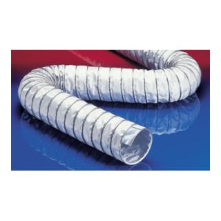 Norres Warmluftschlauch hitzebest. (+270°C) Ø: 165mm L: 6m CP PTFE/GLASS-INOX 471