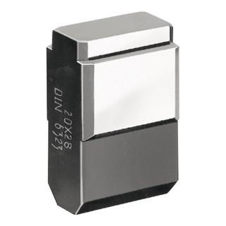 Nutenstein DIN6323 Form C-22x20mm lose AMF