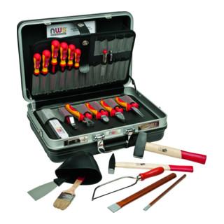 NWS Montage- und Ausbildungs-Werkzeugkoffer Basic, 23-tlg.