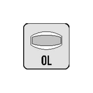 Objektgarnitur 72 1023 ma 6204 f. TS 42-48mm Rosetten-Drückergarnitur