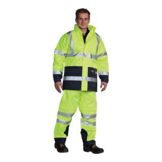 Ocean Warnschutzjacke 5in1 Poratex Premium gelb/marine