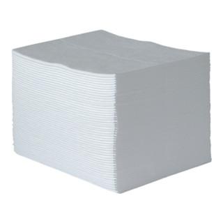 Ölbindevlies Oil-Only weiß bindet b.max.84l/VE 40cm x 50cm 100 Tü.Krt.RAW