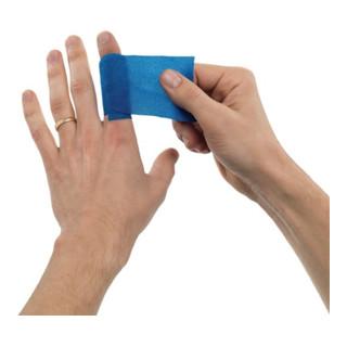 Orkla Pflaster u.Bandage Soft Foam selbsthaftend elastisch blau