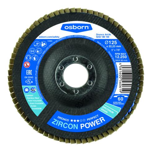 Osborn Fächerscheibe Perfect Zircon Power 60 Bomb 115x22,23 mm