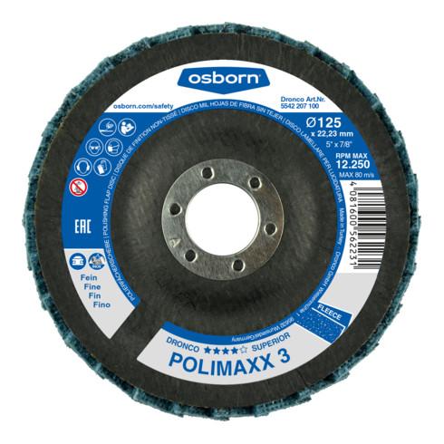 Osborn Fächervliesscheibe Superior Polimaxx fein 125x22,23 mm