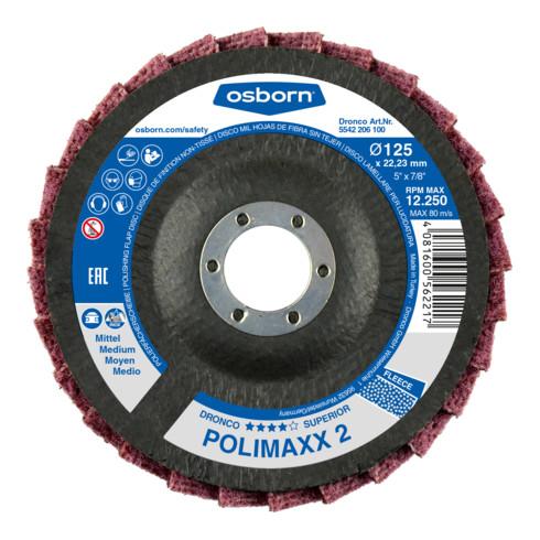 Osborn Fächervliesscheibe Superior Polimaxx medium 115x22,23 mm